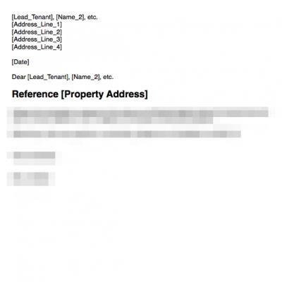 Return deposit to tenant in full
